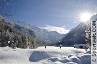 Jägersee Kleinarl im Winter